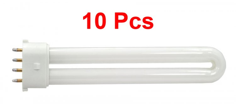 UV Lamp Replacement Bulbs 9 Watts - 10 pcs (For CND Lamp)