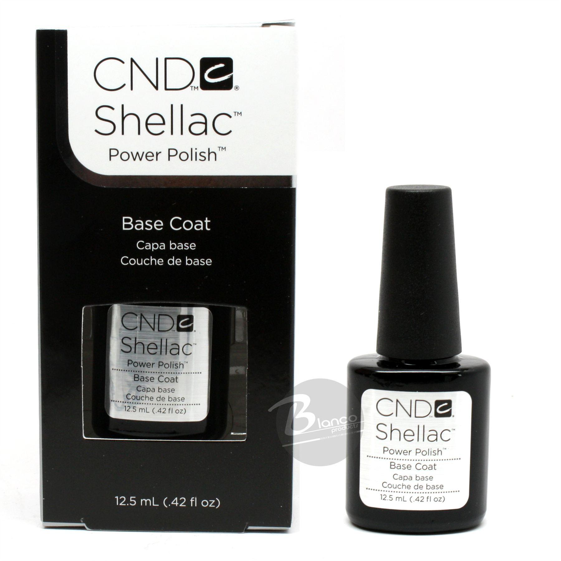 CND Shellac - 40404 - Express Base Coat / 0.5 oz. - 15 mL