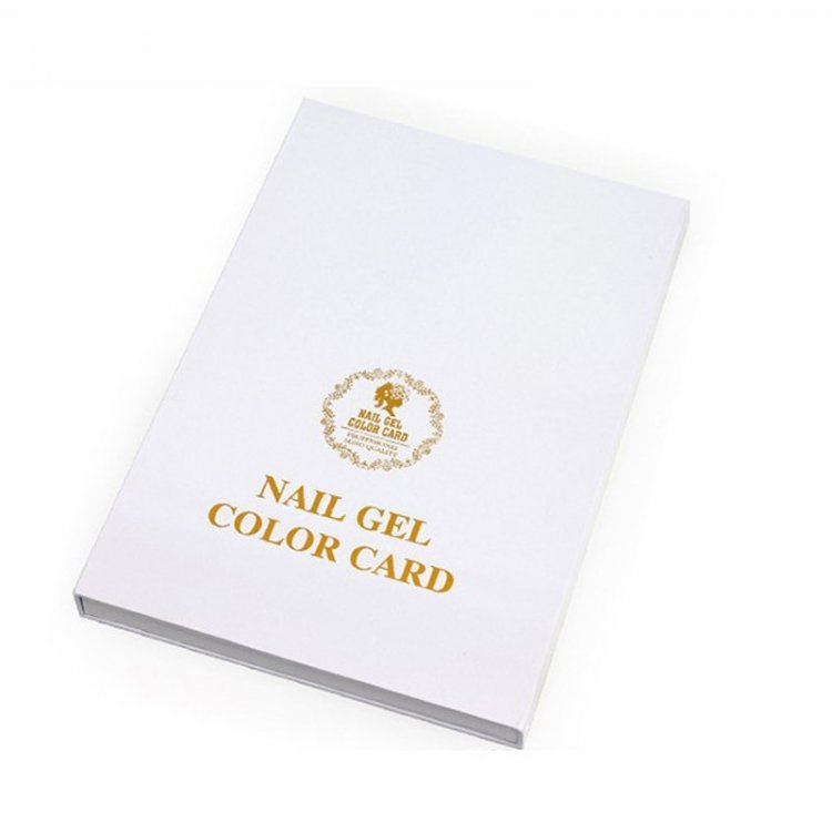 Gel Color Book - 308 Colors
