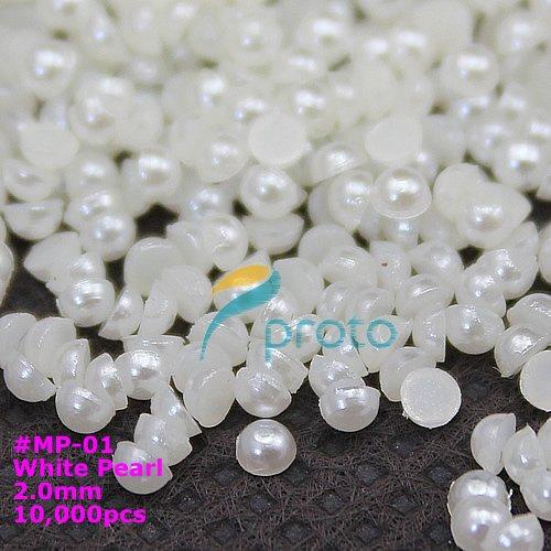 White Baby Pearl - (10000pcs)