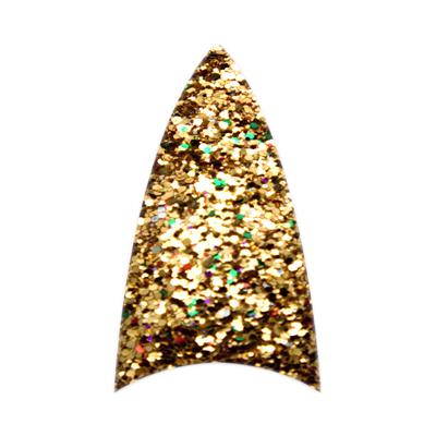 Stiletto Glitter - Dark Gold - SSG18 - 110 Tips