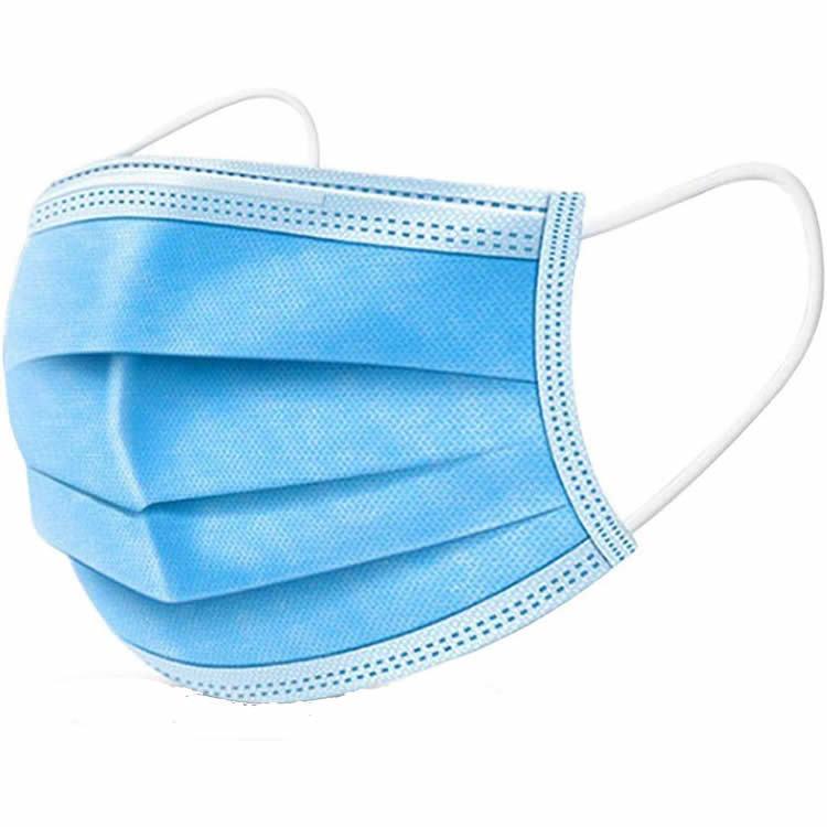 Blue Face Masks,  50 Pcs/Box 4 pLy