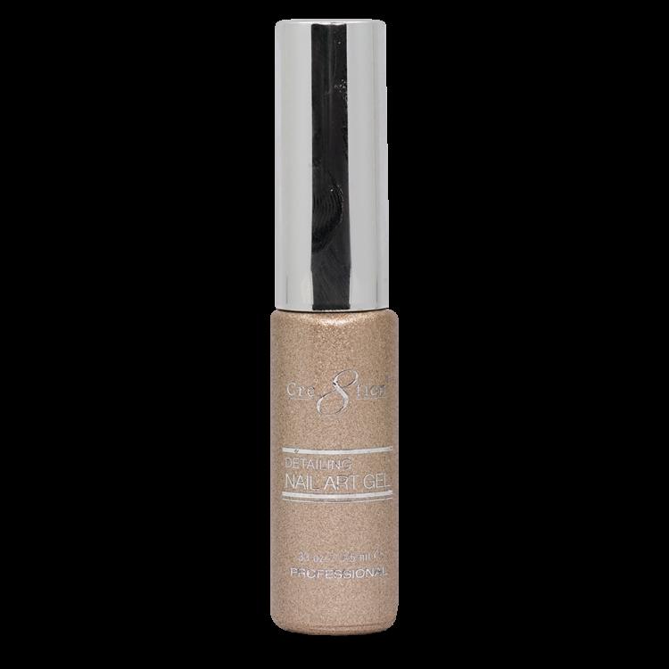 Cre8tion Detailing Nail Art Gel 35 Rose Gold Platinum