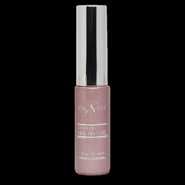 Cre8tion Detailing Nail Art Gel 37 Pink Platinum