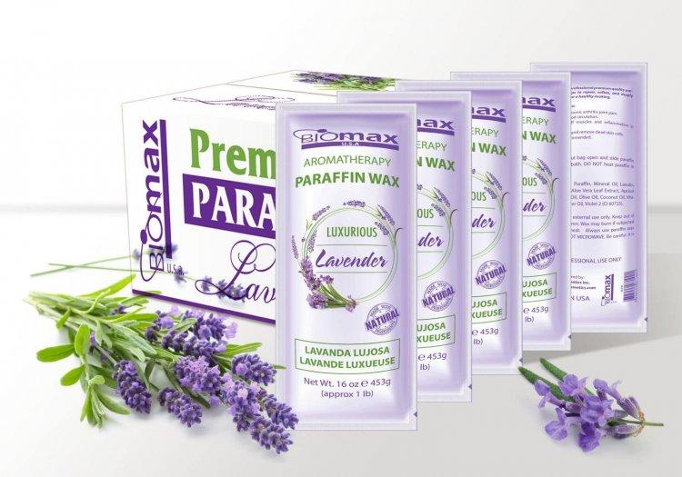BIOMAX - Paraffin Wax - Lavender - 36 pcs / box