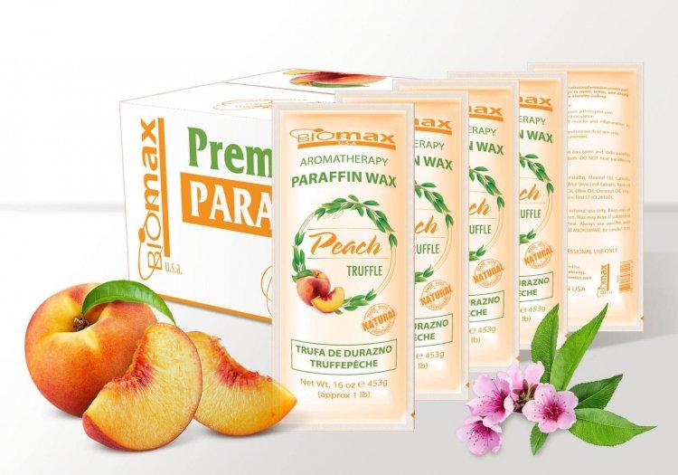 BIOMAX - Paraffin Wax - PEACH - 36 pcs / box