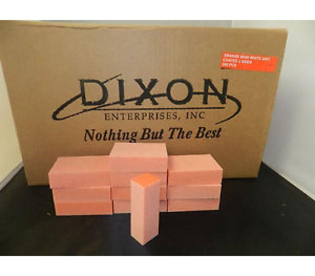 Dixon - Buffer 3 Way - Orange + White (80/100) - 500pcs/box