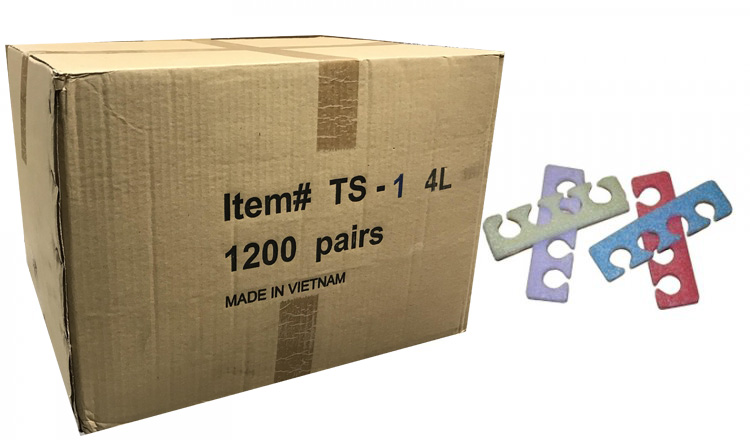 Toe Separators (Soft) TS-1 - 1200 Pairs / Box