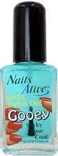 Nails Alive 3 Sticks Polish On - Gooey  - #03  1.19 oz.